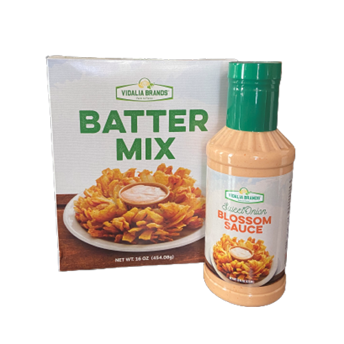 Batter Mix, Onion Cookers, and Kits