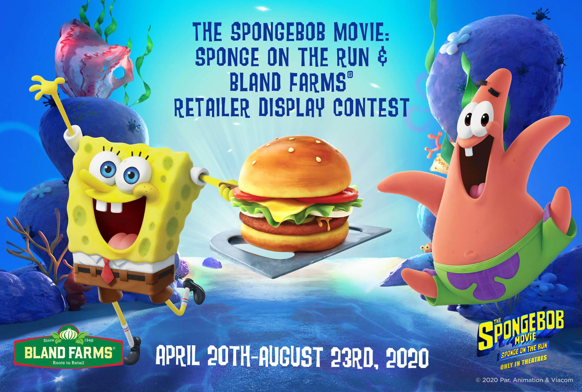 Spongebob Bland Farms Retailer Display Contest