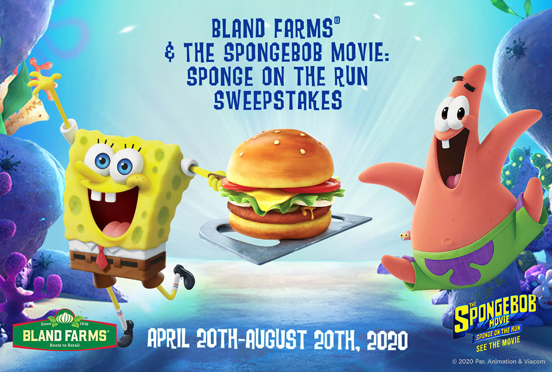 Spongebob Bland Farms