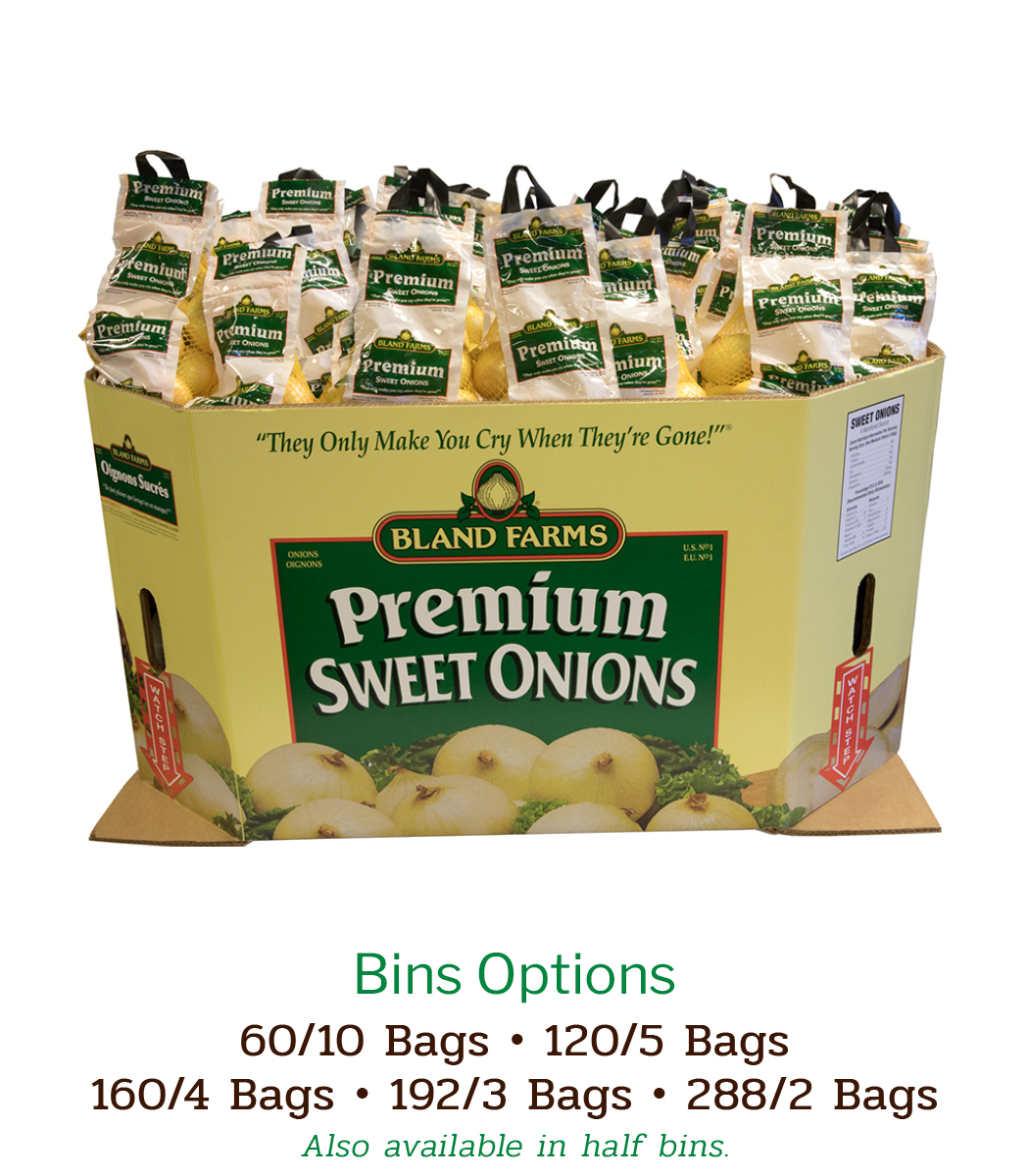 Bin Options Sweet Onions