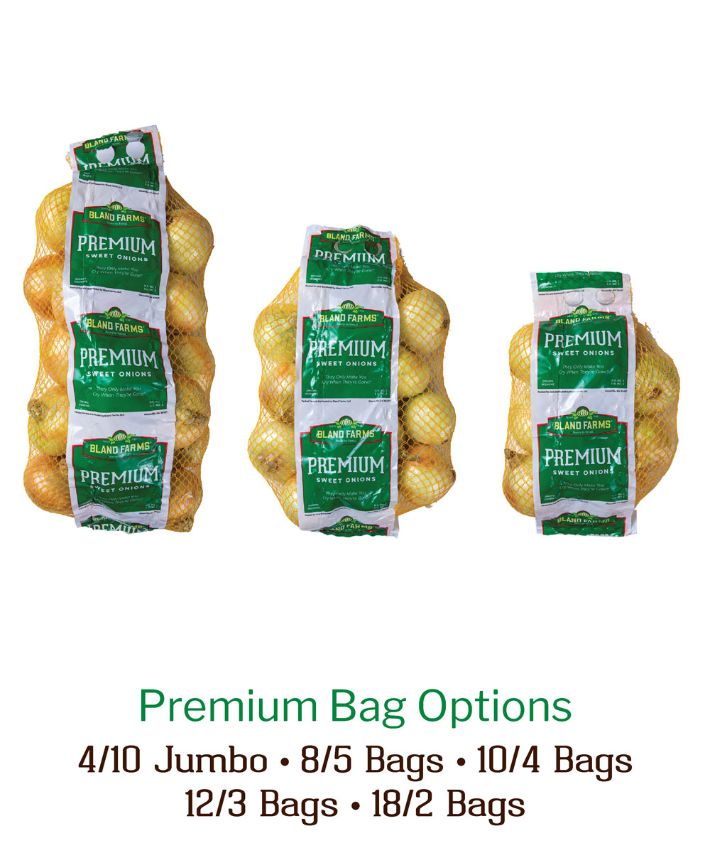 Bag Options Sweet Onions