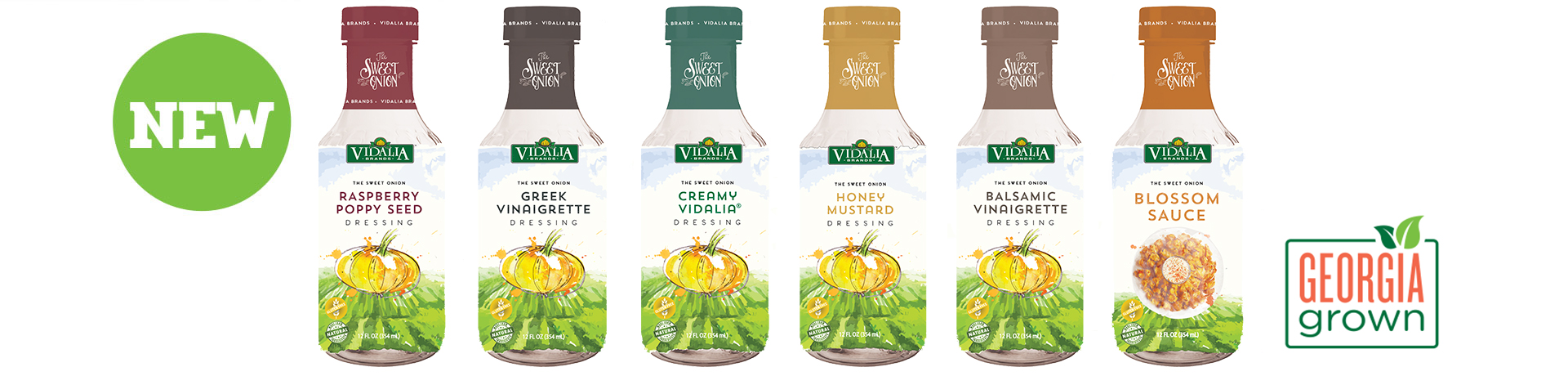 Vidalia Onion Dressings - Georgia Grown