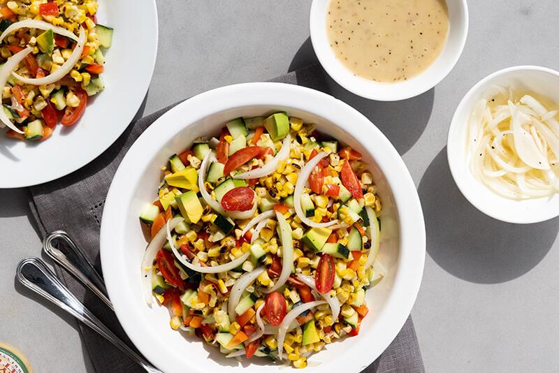 Vidalia® Onion & Grilled Corn Salad