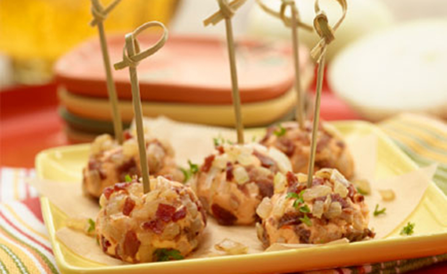 Vidalia® Onion Bacon Cheese Pops