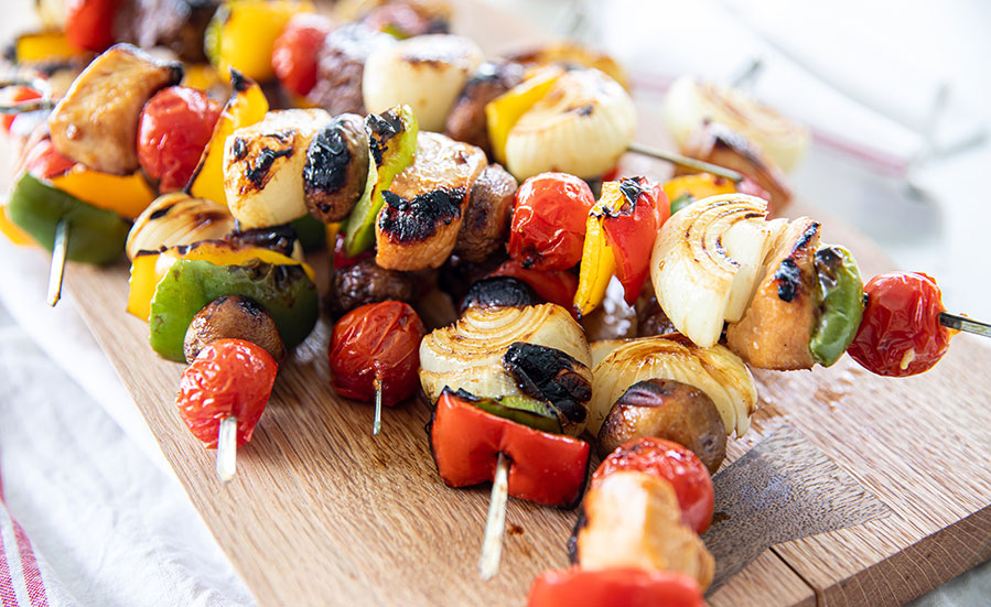 Beef or Chicken Shish Kabobs